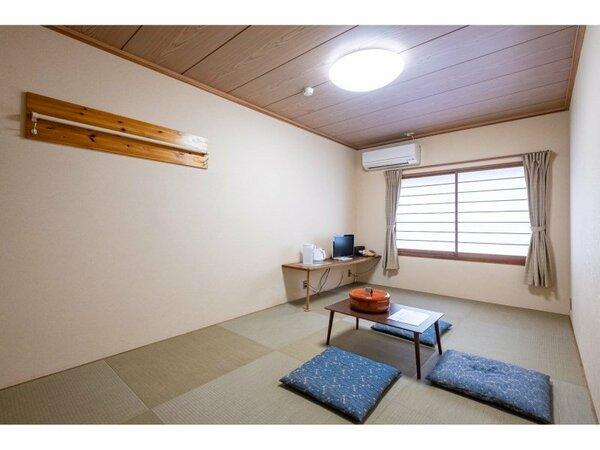 和室7.5畳のお部屋です。富士山側ではありません。