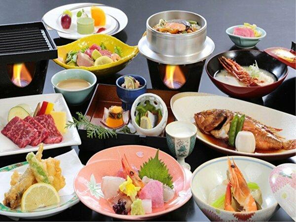 新鮮なお造り・煮魚・焼き物・釜飯など四季折々の五浦の味覚を堪能できます。