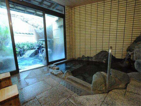 ◆内風呂:下呂の名湯をご堪能ください。