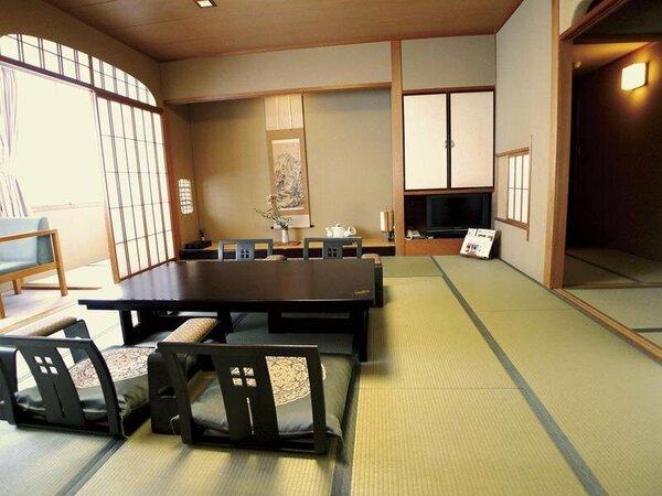 本館和室10畳又は12.5畳 標準タイプのお部屋です(イメージ)