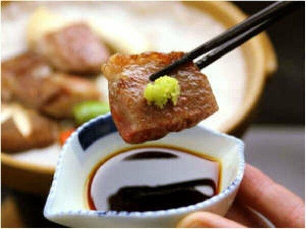 選べる!朴葉味噌ステーキor飛騨牛サイコロステーキ