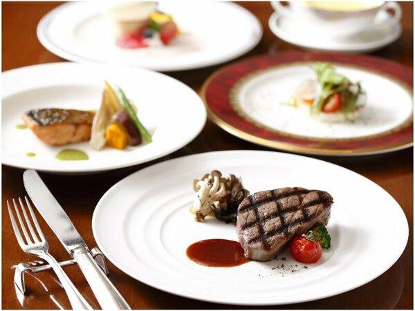 【欧風レストラン「バーデンバーデン」】飛騨食材たっぷりの彩り豊かなフレンチコース