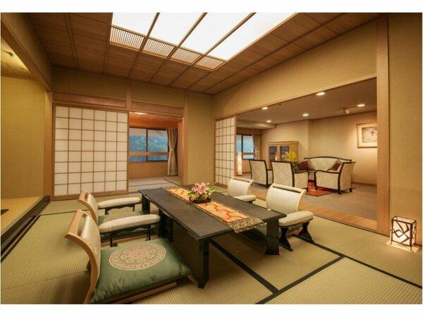 ☆◆特別室・きくすい◆上質な空間で、心行くまで休息をお愉しみください
