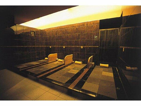 人気のささらSPAにある岩盤浴「宇宙の雫」女性専用室。デットクス効果○
