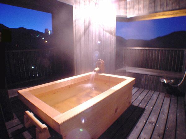 森山館露天風呂付客室「ともしび」朝日の綺麗なアンティーク和室