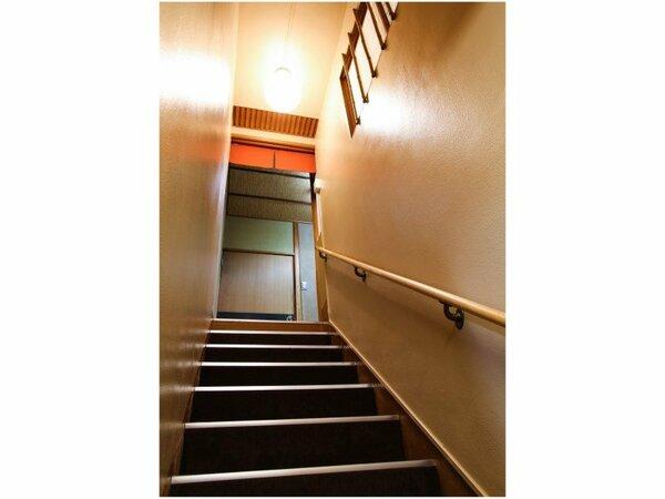 深山荘 室内の階段