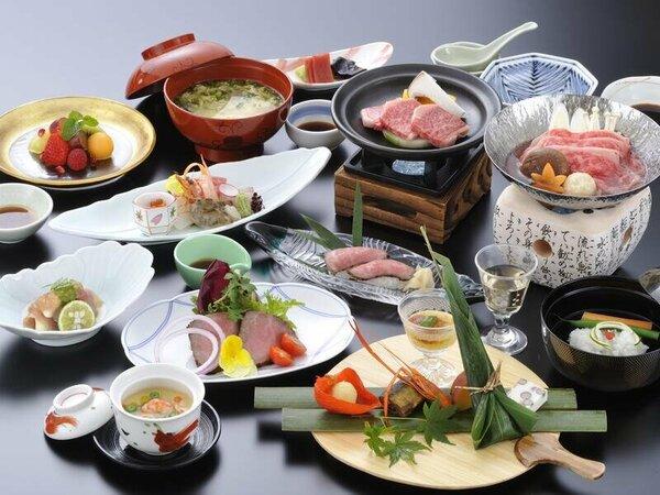 料理の一例(イメージ)飛騨牛三昧(厳選)