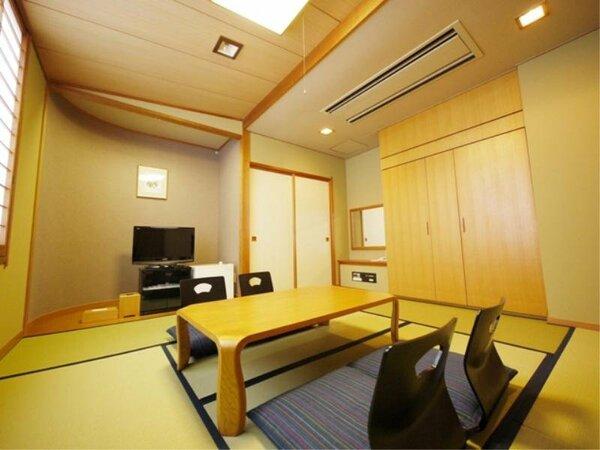和室(一例):全室無料Wi-Fi&加湿機能付空気清浄器完備