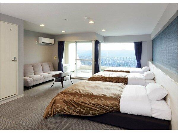 別館ファームシティはリゾートマンション型式(コンドミニアム)の客室です。