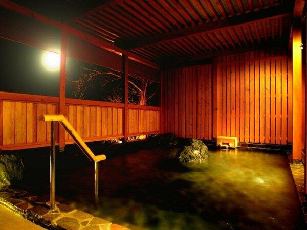 大浴場『檜扇』の露天風呂です。