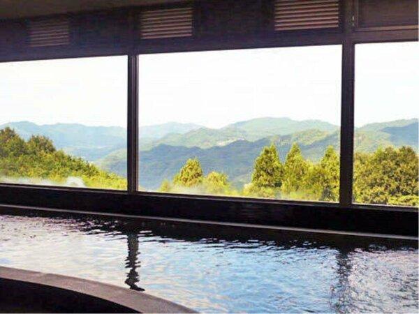 【お風呂】大浴場からのこの景色!観に来ませんか?