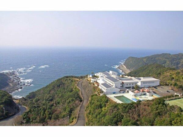 高台から太平洋を一望する最高の立地