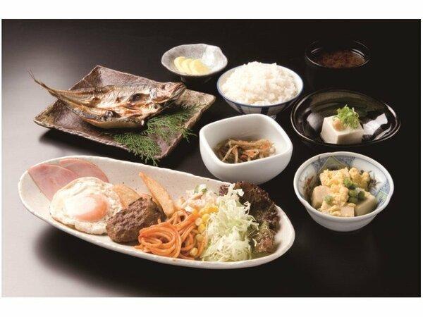 【朝食】和洋食セット