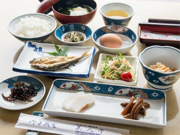 *【朝食一例】ほっとする和定食をご用意いたします