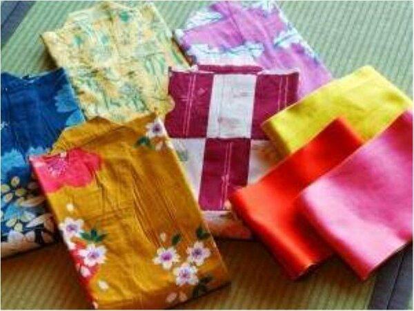 女性に大人気の多種多様の色浴衣♪大切な時間を彩り豊かに・・・