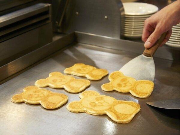 【朝食】焼きたてパンダ♪