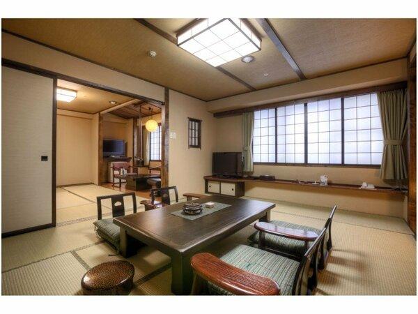 和室二間 10畳+6畳【ふるさと館】54平米