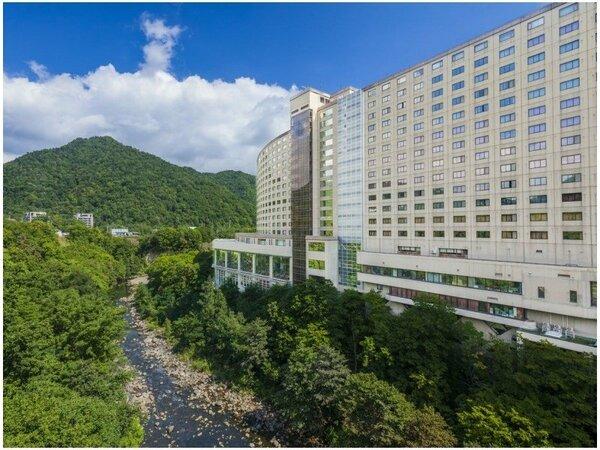 【外観】定山渓ビューホテル