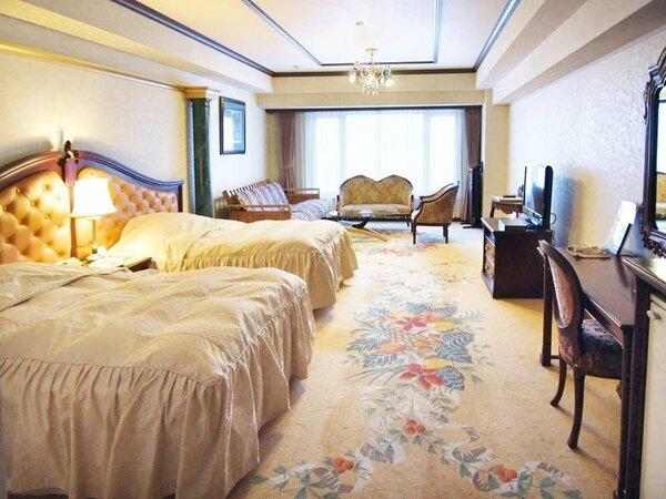 【新館洋室】ベッド2台のツインルームです。