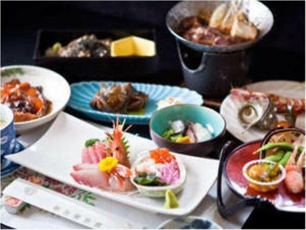 信州佐久地方の川魚を使用した一番人気!ワンランク上会席一例 夕食受付時間 18:00~19:30