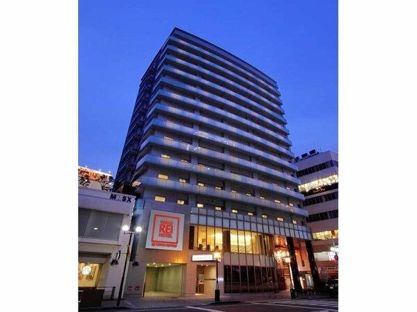 神戸元町REIホテル外観(夜)