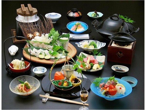 鱧しゃぶ、鱧の天婦羅など、関西の夏の美味〝鱧〟を味わう『夏味満喫会席』※イメージ