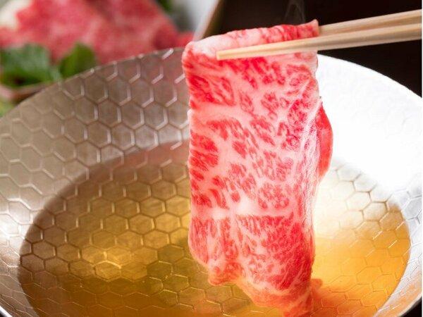 【神戸牛しゃぶしゃぶ】上品な香ばしさを醸し出す神戸牛ならではの繊細な味わいです。 ※イメージ