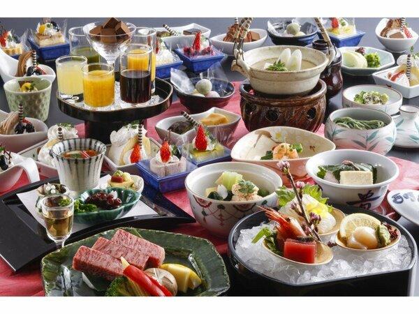 【旬会席《神戸牛》】神戸牛をはじめ、厳選素材で仕上げた伝統の会席料理。 ※イメージ