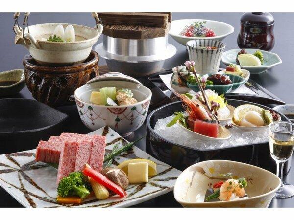 【神戸牛たっぷり120g鉄板焼会席】 神戸に来たらやっぱり神戸牛! ※イメージ