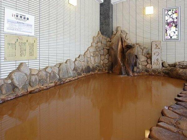 有馬御苑の金泉は、濃度の濃さが自慢です