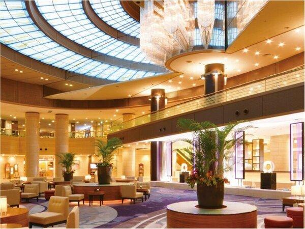 天井高17mある、神戸港をイメージしてデザインされたホテルのロビー(イメージ)