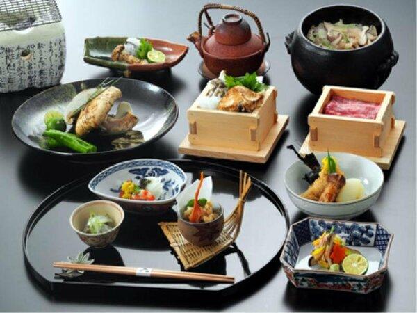 早松茸懐石 料理イメージ