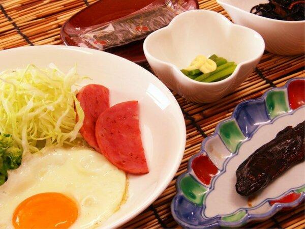 朝食は温かいうちに♪