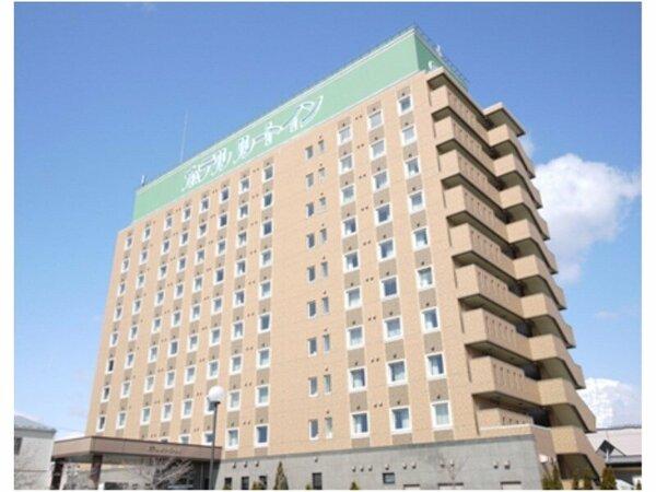 ビッグパレットふくしままで徒歩5分!レジャー・ビジネスに便利なホテルです。