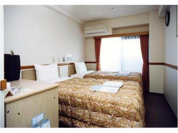 ツインルームの一例 ■ベッド幅 90cm■