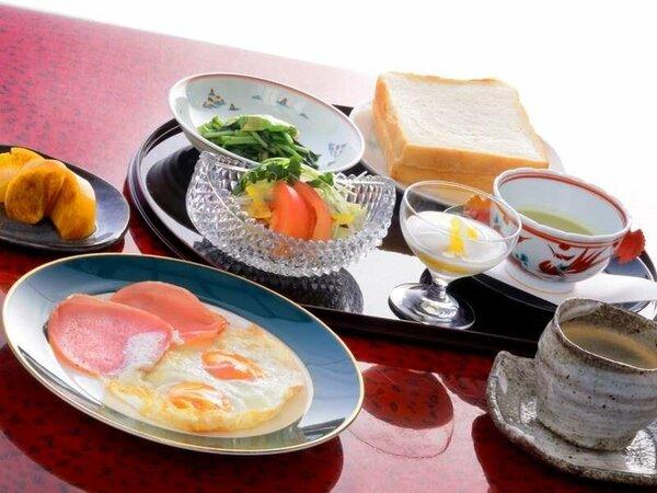 お部屋での朝食は、和食・洋食からお選び頂けます