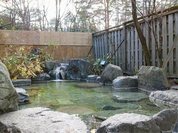 *【露天風呂】郡上高原の景色を楽しみながら癒しのひと時を
