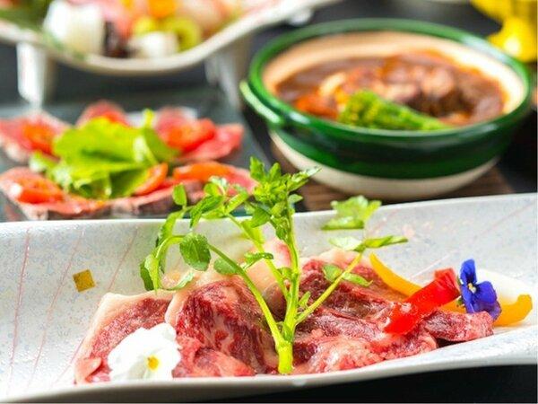 【和牛会席プラン】●上州牛ステーキ付き和食会席1泊2食!●地元のブランド牛を贅沢に使った逸品を是非♪
