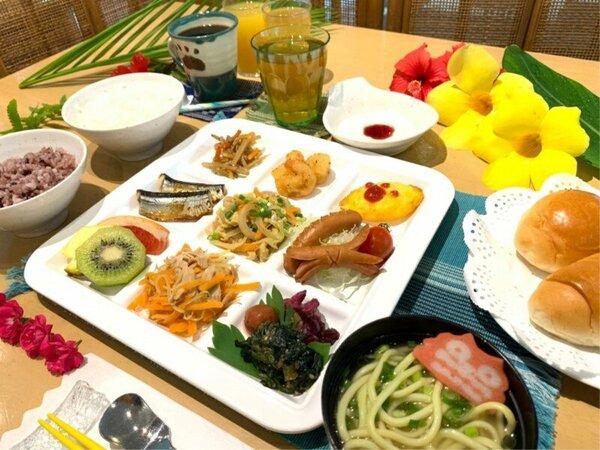 *朝食セットメニュー(一例)