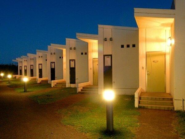 リゾートハウス夜