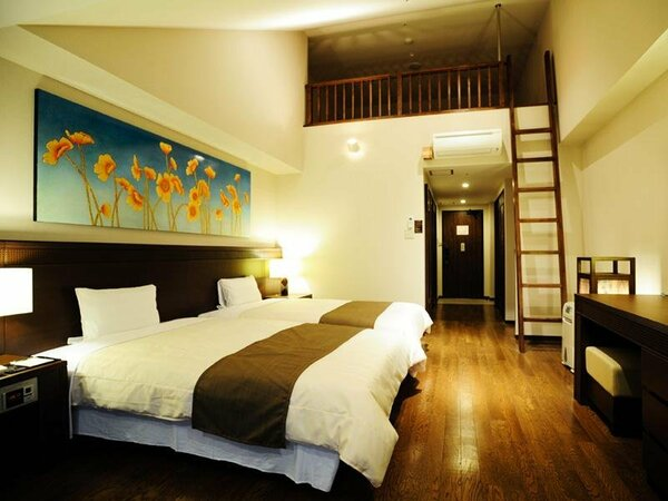 オーシャンビュールーム(ロフト付ファミリールーム 一例)1ファミリー向けロフト付のお部屋。