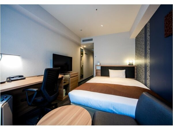 スタンダード 客室面積:18.2平米/ベッド幅:154cm(1、2名利用)