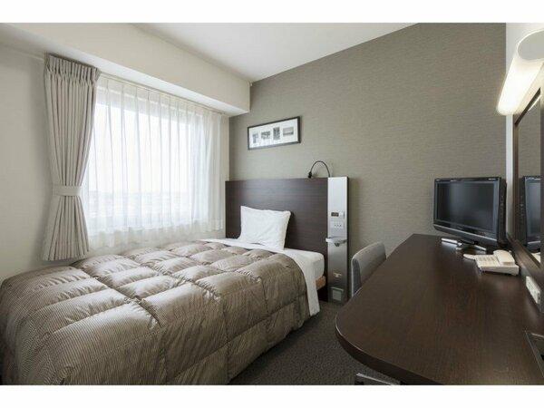【ダブルエコノミー】広さ13/ベッド幅140cm