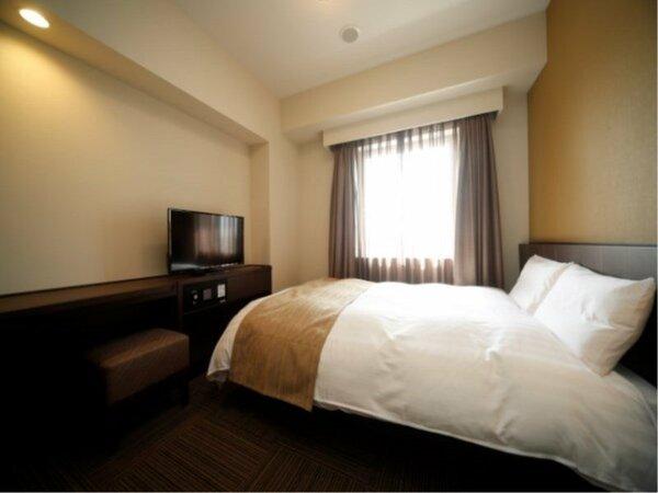 ◆ダブルルーム15平米 ベッドサイズ140cm×195cm
