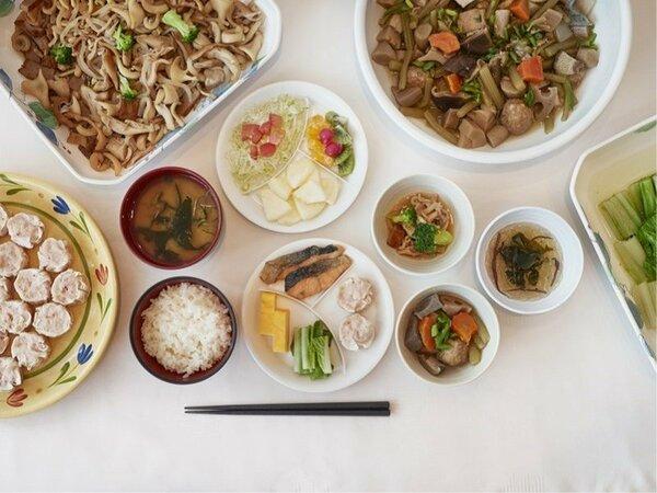 和食中心のご朝食バイキング ※イメージ