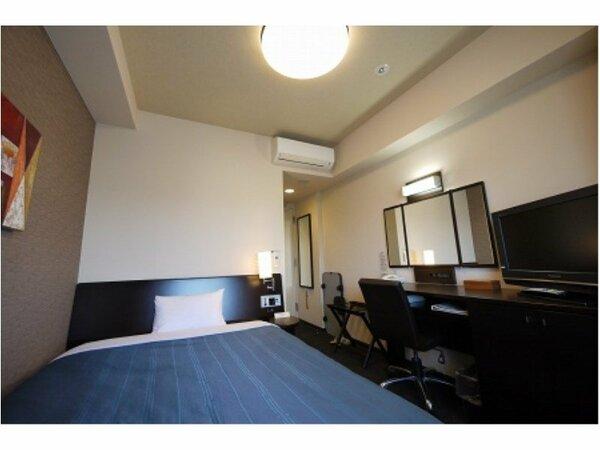 【コンフォートシングル】ベッドサイズ140×196(cm) 全室無料Wi-Fi&加湿機能付空気清浄器