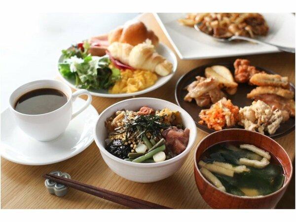 盛り付け例/朝食時間 6:30から10:00(最終入店9:30)