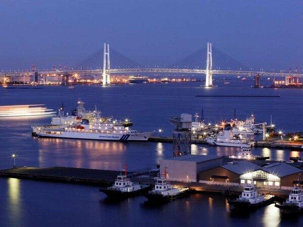 港を一望できるベイビュー【夜景イメージ】