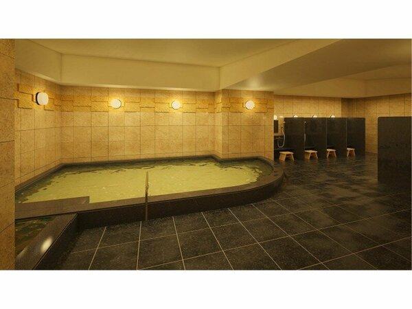 大浴場は、15時から0:30、朝6時から09:30。サウナもございます。