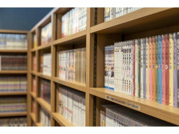 館内設備◆漫画コーナー